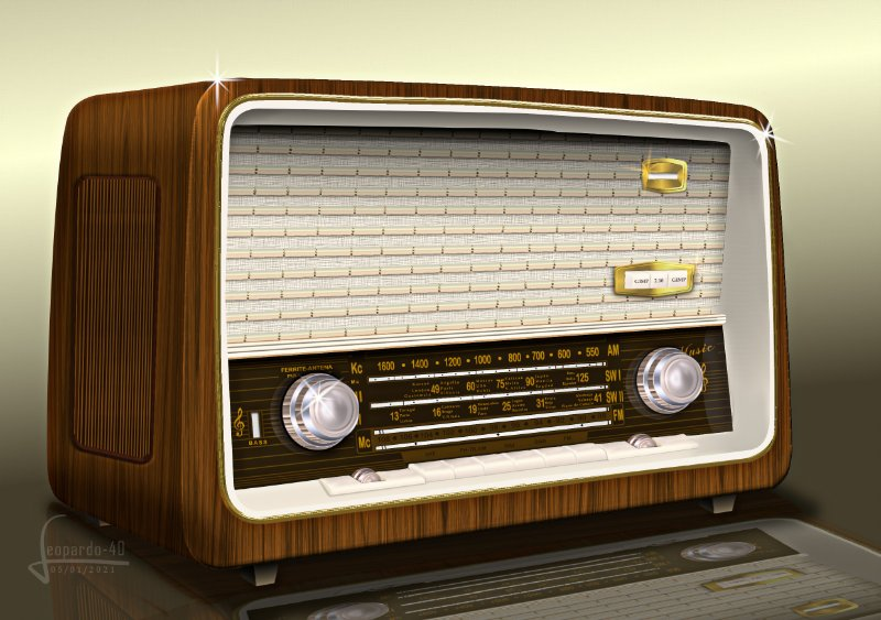 Radio # Manipulation # Gimp